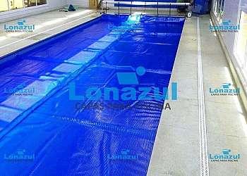 Lona para piscina aquecida