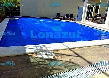Lona para piscina flutuante
