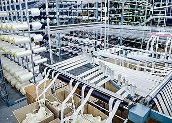 Fábrica de lona de algodão