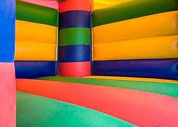 Lona para piscina inflável