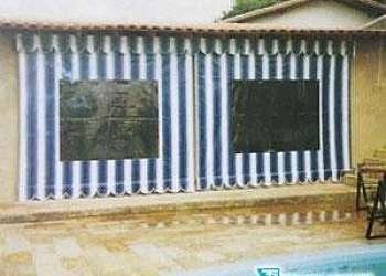 Toldos e cortinas de lona